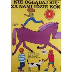 Schau dich nicht um, uns folgt ein Pferd Jirí Hanibal