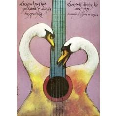 Łazienki Treffen mit spanischen Musik