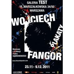 Wojciech Fangor Plakat Test-Galerie