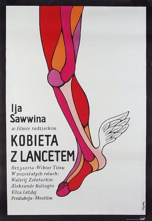 Kobieta z lancetem