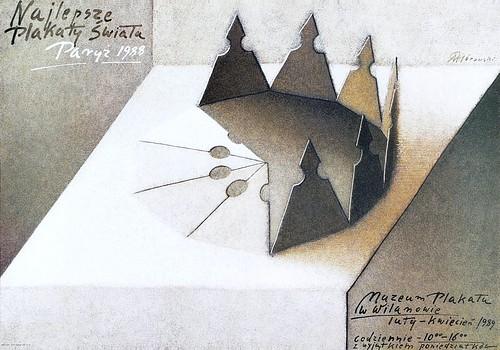 Najlepsze plakaty świata Paryż 1988