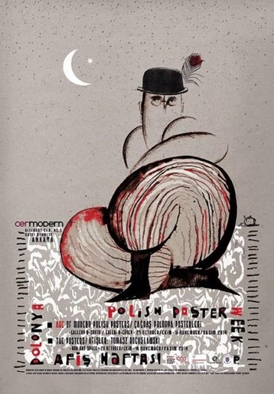 Ryszard Kaja Polish Poster wystawa Ankara