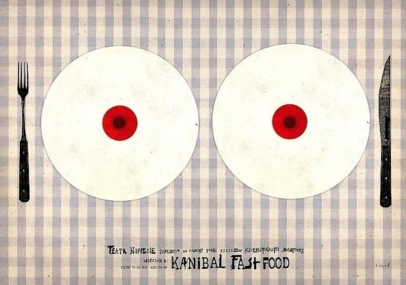 Ryszard Kaja Kannibal fast-food