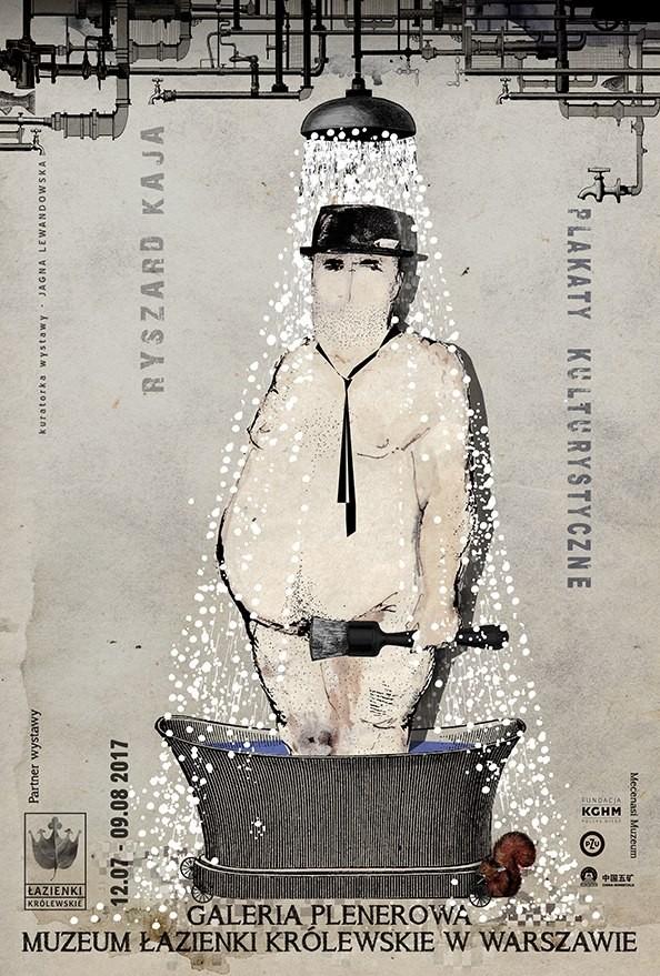 Ryszard Kaja wystawa plenerowa w Łazienkach Warszawa