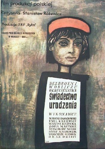 Świadectwo urodzenia Stanisław Różewicz