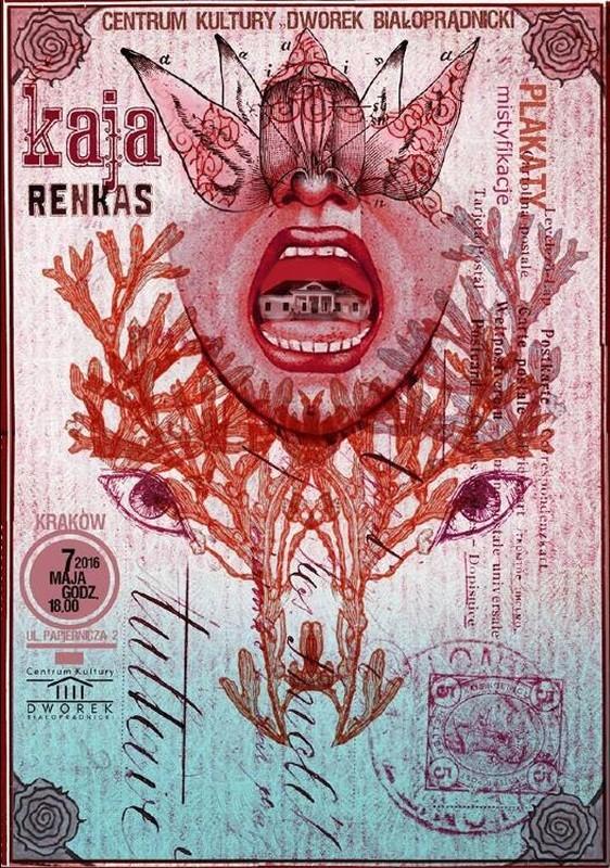 Plakaty, mistyfikacje Dworek Białoprądnicki