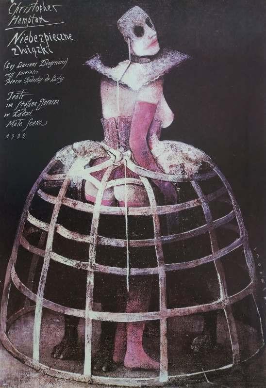Wiktor Sadowski Niebezpieczne związki Christopher Hampton