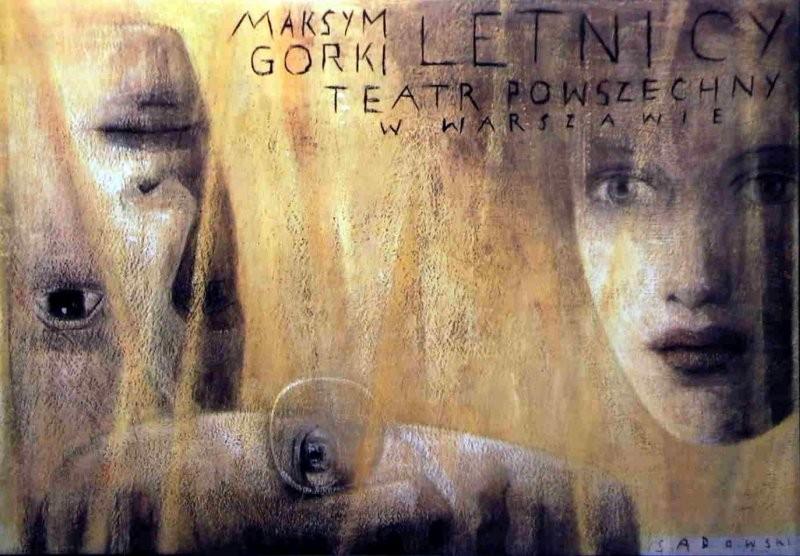 Wiktor Sadowski Letnicy Maksym Gorki Teatr Powszechny Warszawa