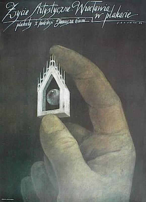 Wiktor Sadowski Życie artystyczne Wrocławia w plakacie. Plakaty z kolekcji Janusza Guni