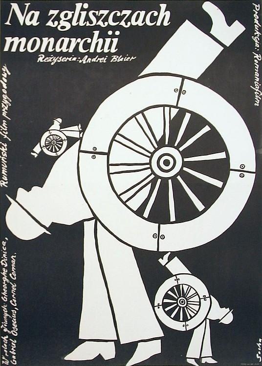 Romuald Socha film poster Na zgliszczach monarchii