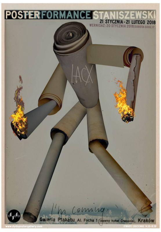 Jacek Staniszewski PosterFormance Dydo Poster Gallery