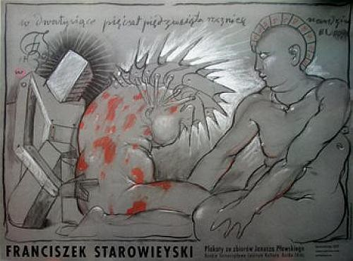 Plakaty ze zbiorów Janusza Pławskiego
