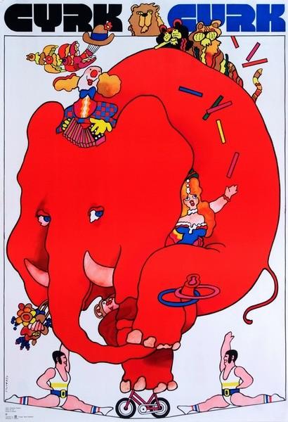Cyrk Czerwony słoń