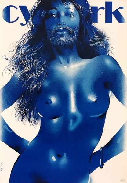 Cyrk Kobieta z brodą