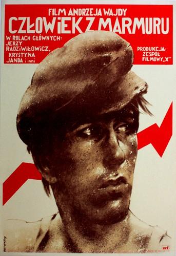 Człowiek z marmuru Andrzej Wajda