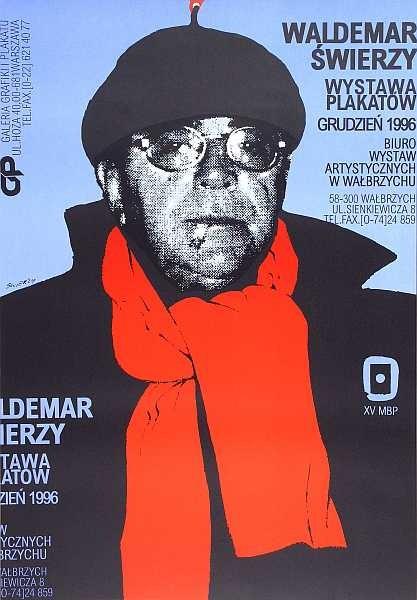 Waldemar Świerzy Wystawa Plakatów BWA Wałbrzych 1996
