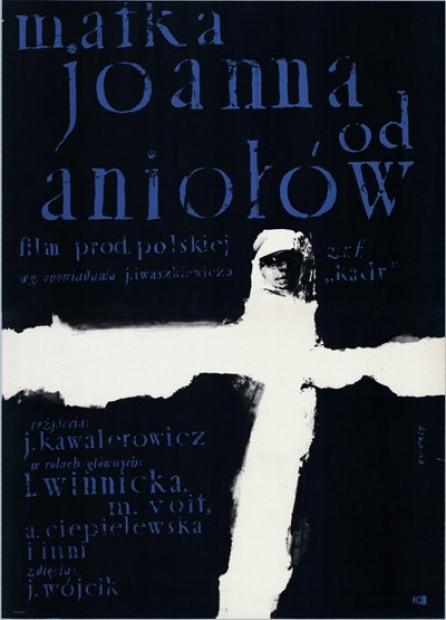 Matka Joanna od Aniołów Jerzy Kawalerowicz (filmposter)