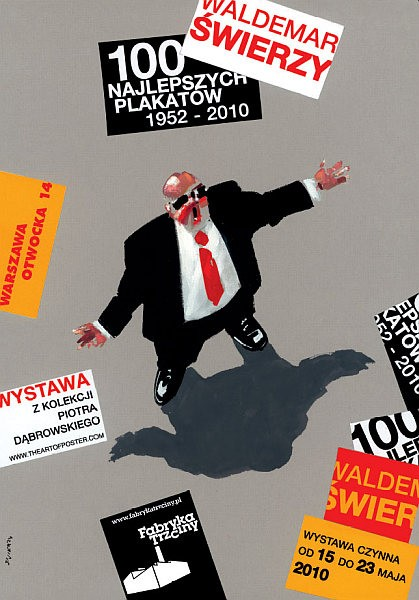 Waldemar Świerzy 100 najlepszych plakatów