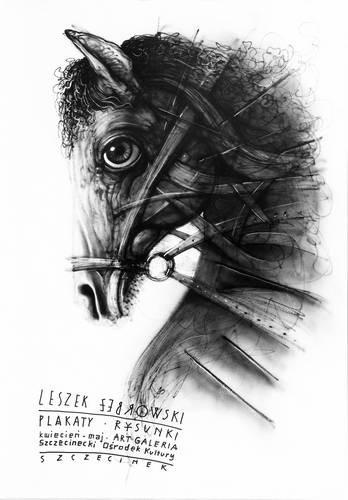 Wystawa Plakaty Rysunki Leszka Żebrowskiego