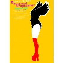 Festiwal Prapremier - 5. Mirosław Adamczyk polski plakat