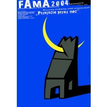 Fama 2004 Mirosław Adamczyk polski plakat