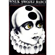 Wnuk swojej babci Adolf Bergunker Danuta Baginska-Andrejew Danka polski plakat