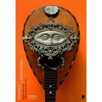 Hommage a Monteverdi 450 lat  polski plakat