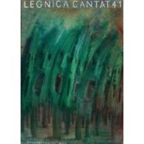Legnica Cantat 41 Jerzy Czerniawski polski plakat