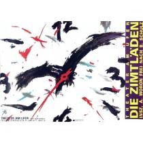 Sklepy cynamonowe Lex Drewinski polski plakat