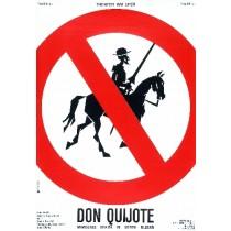 Don Quijote Lex Drewinski polski plakat