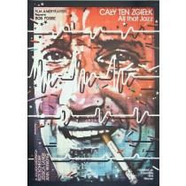 Cały ten zgiełk Bob Fosse Lex Drewinski polski plakat