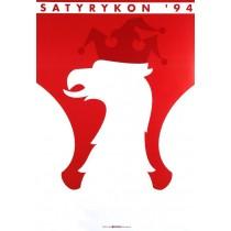 Satyrykon 1994 Lex Drewinski polski plakat