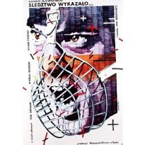 Śledztwo wykazało Ada Neretniece Lex Drewinski polski plakat