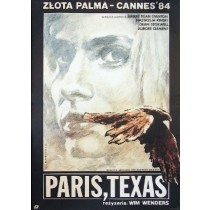 Paris, Texas Wim Wenders Witold Dybowski polski plakat