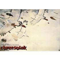 Chrześniak Henryk Bielski Witold Dybowski polski plakat