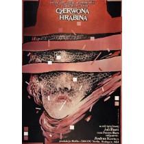Czerwona hrabina Andras Kovacs Witold Dybowski polski plakat