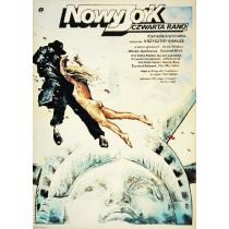 Nowy Jork, czwarta rano Krzysztof Krauze Witold Dybowski polski plakat