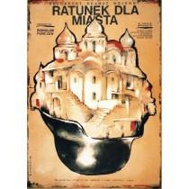 Ratunek dla miasta Petar Peychev Witold Dybowski polski plakat