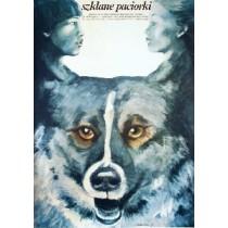 Szklane paciorki Igor Nikolayev Maria Ekier polski plakat