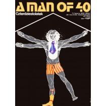 Czterdziestolatek – A mann of 40 Jakub Erol polski plakat