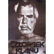 Człowiek klanu Sydney Pollack Jakub Erol polski plakat