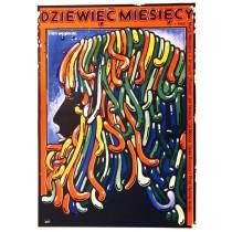 Dziewięć miesięcy Marta Meszaros Jakub Erol polski plakat