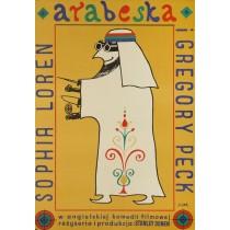Arabeska Jerzy Flisak polski plakat