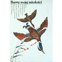 Barwy mojej młodości Tokihisa Morikawa Jerzy Flisak polski plakat