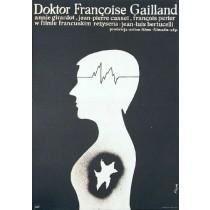 Doktor Francoise Gailland Jean-Louis Bertucelli Jerzy Flisak polski plakat