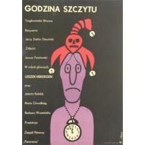 Godzina szczytu Jerzy Flisak polski plakat