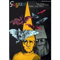 Goya Jerzy Flisak polski plakat