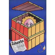 Zabawka Jerzy Flisak polski plakat