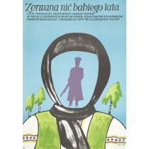 Zerwana nić babiego lata Jerzy Flisak polski plakat