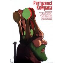 Partyzanci Kowpaka Jerzy Flisak polski plakat